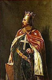 Richard the Lionheart (1157 - 1199). Son of King Henry II and Queen Eleanor of Aquitaine. He married Berengaria of Navarre. He became King at the death of his father.