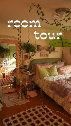 Room Design Bedroom, Room Ideas Bedroom, Bedroom Decor, Bedroom Inspo, Indie Room Decor, Aesthetic Room Decor, Chambre Indie, Pinterest Room Decor, Pretty Room