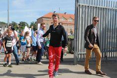 Frederik at the Olympic Games of Danish Schools 17 June 2014