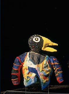 Marie Rose Lortet - A Jacket for a Migratory Bird    Knit 2 Together, celebrates knitting as art.