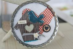 fun bottlecap idea-love these new large ones!