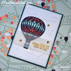 Kirsten Aitchison: Crazy Crafters Blog Hop with special guest - Mikaela Titheridge