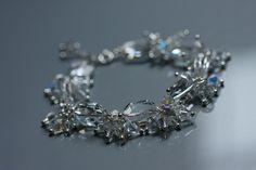 wedding bracelet based on Swarovski Crystal Elements