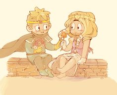 Princess Kenny & Knight Butters | Tumblr