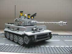 ww2 lego tank tiger 1