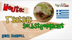 Tsatsiki mit Dill - Rezept von Manus Kochstunde Dips, Beef, Food, Dill Recipes, Fried Cabbage Recipes, Greek Recipes, Meat, Sauces, Essen