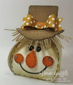 Curvy Keepsake Scarecrow