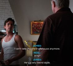 HAHA Mozzy (: - from White Collar
