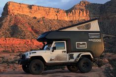 Jeep Wrangler Unlimited ActionCamper. Now that's how you can with your Jeep!