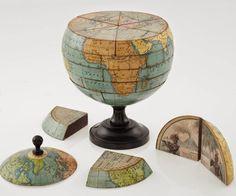 Découverte du plus ancien globe montrant le Nouveau Monde | Le Savoir Perdu Des Anciens