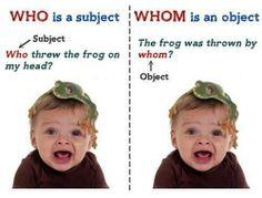 Who or Whom? #English #language