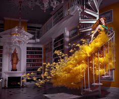 "Saatchi Online Artist Miss Aniela; Photography, ""Away with the Canaries, 2/3, large edition. 1 sold"" #art"