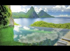 Jade Mountain, St. Lucia  One of the most beautiful places I have been