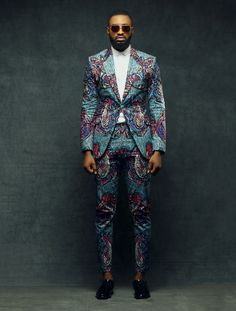 Worry no more my man! Because we've got the most Stylish Wedding Suit Styles For Nigerian Men which you could choose from the best naija men wedding suits styles of African Clothing For Men, African Print Fashion, African Styles For Men, Wedding Suit Styles, Wedding Suits, African Attire, African Wear, Tribal African, Men Looks