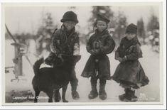 Samiska barn, 1900-1920, Gällivare