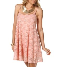 Pre-Order: Light Pink Lace Dress