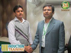 Mr. Deepak Kumar, Staff-3Aworld thanking Mr. Prakash Arya, AVP-MARCOM for his informative seminar.