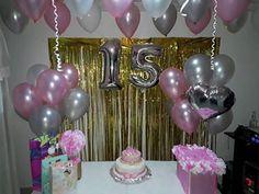 Birthday Goals, Pink Birthday, 16th Birthday, Birthday Parties, Red Party Decorations, Birthday Balloon Decorations, Birthday Balloons, Celebration Balloons, Birthday Surprise Boyfriend