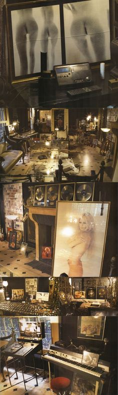 Inside Serge Gainsbourg's studio