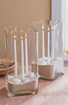 Tablescape ● Sand Centerpiece  #green #beach #wedding ... Wedding ideas for brides, grooms, parents & planners ... https://itunes.apple.com/us/app/the-gold-wedding-planner/id498112599?ls=1=8 … plus how to organise an entire wedding ♥ The Gold Wedding Planner iPhone App ♥