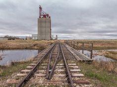 Grain elevators Hodgeville SK