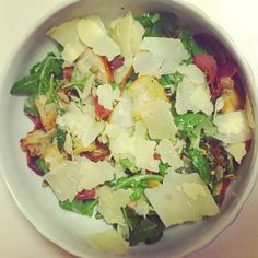Prosciutto, pear, fig and rocket Salad