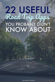 With these road trip apps, you can plan your schedule and itinerary for activities and entertainment, get accurate directions, and make road life easier. Here are 22 travel apps to download before your big trip. Hot Beauty Health #traveltips #roadtrip #travelapp #roadtripapp