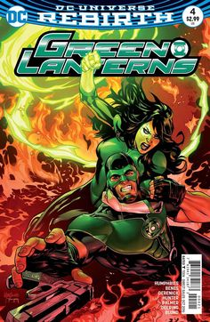 Green Lanterns #4 Variant (2016)