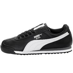 Puma Roma Basic Mens 353572-11 Black White Athletic Shoes Casual Sneakers S 10.5