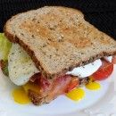 B.L.T.A.E (Bacon, Lettuce, Tomato, Avocado, and Egg Sandwich) Sounds Yummy!!