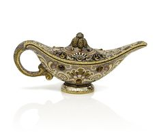 Judith Leiber genie lamp clutch...will I be granted 3 wishes?