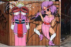 Koralie and Fafi (2008) Williamsburg, Brooklyn, New York City (USA)