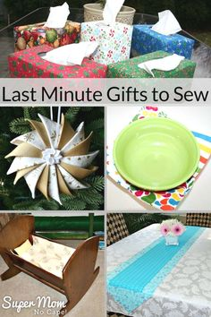 Sewing Gifts Need some ideas for last minute gifts to sew? Click through for some super quick and easy gifts to sew when you need a handmade gift in a hurry. Sewing Hacks, Sewing Tutorials, Sewing Tips, Sewing Ideas, Sewing Crafts, Leftover Fabric, Love Sewing, Sewing Projects For Beginners, Diy Projects