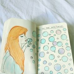 fill this page with circles