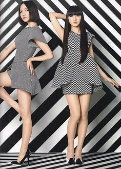 Perfume Jpop, Chanel Perfume, Japanese Girl Group, Hot Girls, Actresses, Legs, Fashion, Vestidos, Dress With Tights