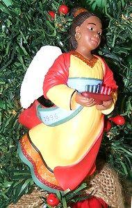 Hallmark Ornament 1996 Celebration of Angels Collector Series 2 Kwanzaa | eBay