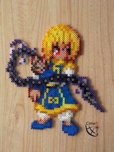 CSW Kurapika Perler beads by Cimenord on DeviantArt