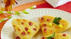 Rezept Kartoffelplätzchen mit Salami