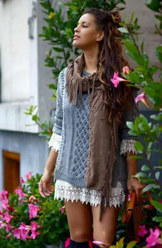 TC Style Clues: Outfit - Knits and Crochet