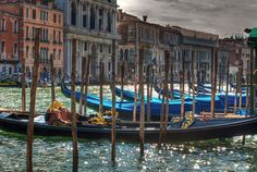 Venedig / Venice, Gondolas on the Canale Grande by Maik Haase Grand Canal, Venice, Boat, Search, Research, Searching, Boats