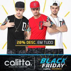 A #BlackFriday na #CalittaBrasil já começou! É todo o site com 20% de Desconto o mês inteiro. Confira > www.calitta.com