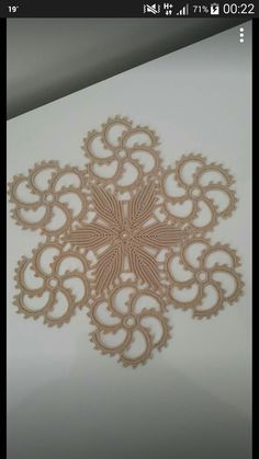 Rust stone, decorated with four laps petals, in thin white cotton thread. To collect. Crochet Stitches Patterns, Baby Knitting Patterns, Crochet Motif, Crochet Doilies, Crochet Flowers, Crochet Lace, Stitch Patterns, Embroidered Lace Fabric, Point Lace