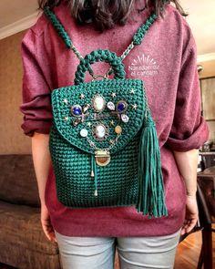 Crochet ruqsaq by @naradan_ozel_cantam