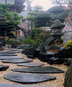 Dashing japanese garden to reach zen atmosphere natural - Jardines con encanto ...