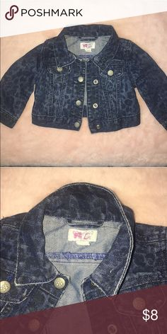Children's Place Denim Jacket Used but still in great condition only flaw is i had to write daughters initials on tag for daycare Children's Place Jackets & Coats Jean Jackets