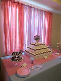 DIY Cupcake Tower, Rectangular Cupcake Tower, Foam Core Cupcake Tower