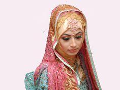 Hijab Worn Bride.