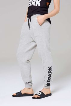 Logo elastic jogger by ivy park (these can be bought online)  Size medium