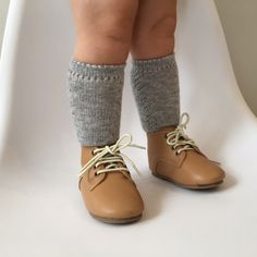 Lacework socks in Grey by Condor