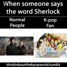 Normal ppl vs. Kpop fan: What they think about.